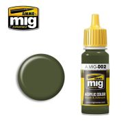 AMIG0002 Olivegrün opt.2 17ml.