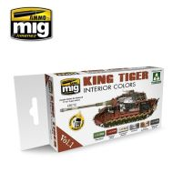 AMIG7165 King Tiger Interior Color (Special Takom Edition) sæt 6 x 17 ml.