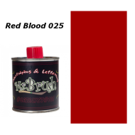 025 Mr. Brush Red Blood 125ml.