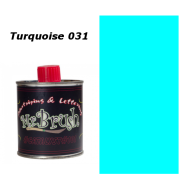 031 Mr. Brush Turquoise 125ml.