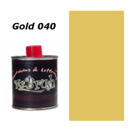 040 Mr. Brush Gold 125ml.