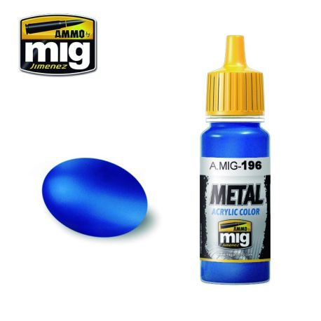 AMIG0196 Warhead Metallic Blue 17ml.