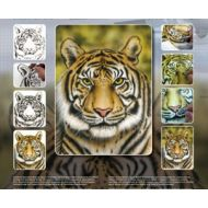 H&S Tiger Wildlife XL stencil