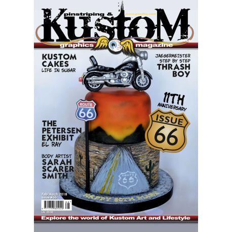 Pinstriping & Kustom Magazine nr.66