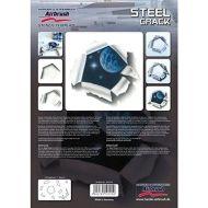 H&S Steel Crack stencil 410125