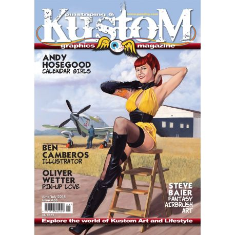 Pinstriping & Kustom Magazine nr.68