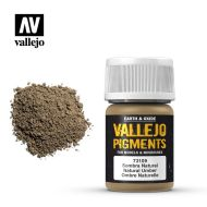 73.109 Vallejo Pigment Natural Umber 35ml.