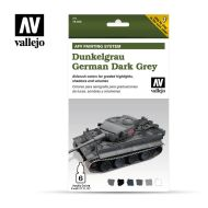 71.400 AFV German Dunkelgrau 6 x 8ml