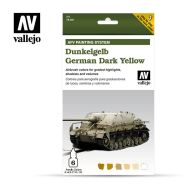 71.401 AFV Dark Yellow 6 x 8ml