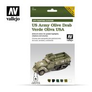 71.402 AFV US Army Olive Drab 6 x 8ml
