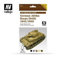 71.410 AFV German Afrika Korps 1942-1944 (DAK) 6 x 8ml