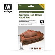 71.411 AFV German Red Oxide 6 x 8ml