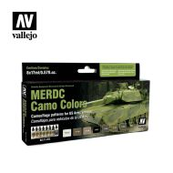 71.202 MERDC Camo color sæt 8 x 17ml