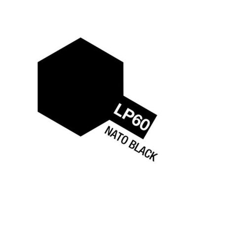 LP-60 Flat Nato Black 10ml.