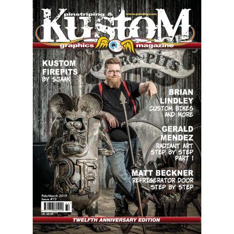 Pinstriping & Kustom Magazine nr.72