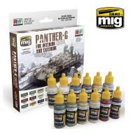 AMIG7174 PANTHER-G Colors Interior and Exterior Sæt 12 x 17 ml.