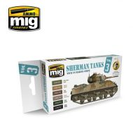 AMIG7171 Sherman Tanks Vol.3 (WWII US Marine Corps) 6 x 17 ml.