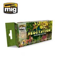 AMIG7176 Vegetation Diorama sæt 6 x 17 ml.