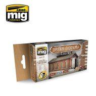 AMIG7177 Urban Diorama Sæt 6 x 17 ml.