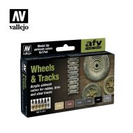 71.213 Wheels & Tracks Colors sæt 6 x 17ml