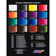 Createx Illustration color chart