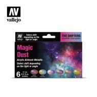 77.090 Magic Dust sæt 6 x 17ml
