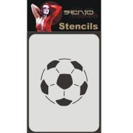 Senjo Color Football Stencil