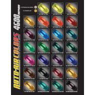 Auto air colors color chart 4600 series